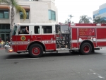 us navy san diego fire engine