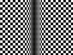Optical Illusion Grid
