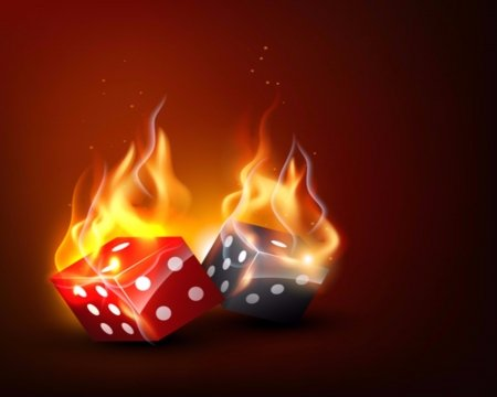 Flame Casino Dice