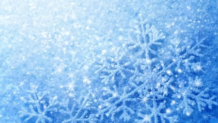 Look - Snowflakes Winter pictures video