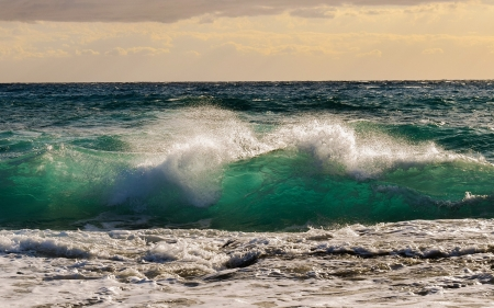 Wave - seascape, nature, wave, sea