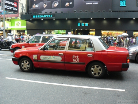 toyota crown comfort - comfort, taxi, crown, hong kong, toyota