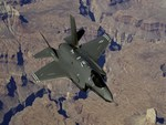 F35 TEST FLIGHT over THE GRAND CANYON