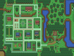 TloZ: A Link to the Past Village