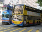 hong kong double decker bus