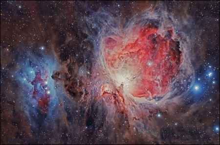 M42 The Great Orion Nebula - stars, fun, nebula, cool, galaxies, space