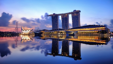 Marina Bay Sands Singapore - Marina, Bay, Singapore, Sands