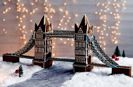 Gingerbread Tower  Bridge