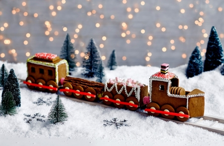 Gingerbread Trains