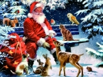 Santa's Furry Friends F