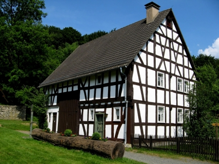Half Timbered English Wooden Houses - English, Architecture, Houses, Wooden, Timbered, Half
