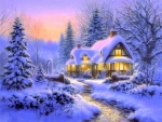Winter's Blanket Cottage