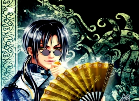 Hand Fan - Men, Hand, Anime, Fan