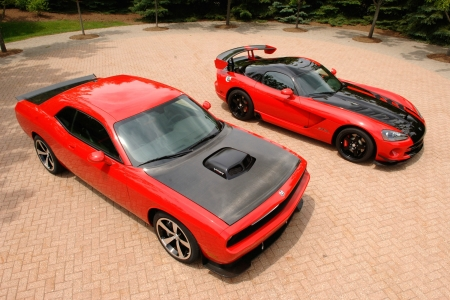 Dodge Challenger and Viper