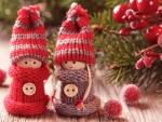 Cute Christmas Dolls