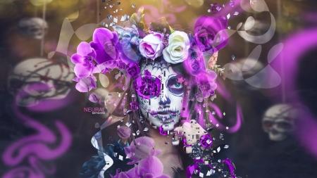 Dia de los muertos - Fantasy & Abstract Background Wallpapers on Desktop Nexus (Image 2333504)