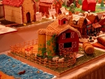 Gingerbread House And Barn