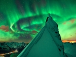 In Green Company Aurora over Norway