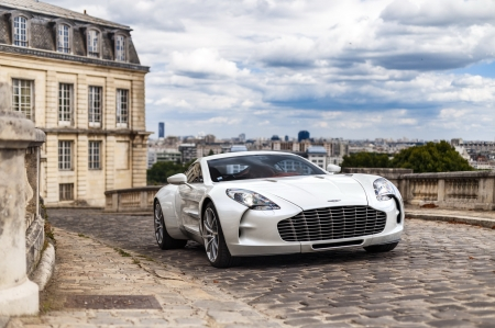 Aston Martin One-77 - car, Aston Martin One 77, auto, HD, Aston Martin, One 77, street