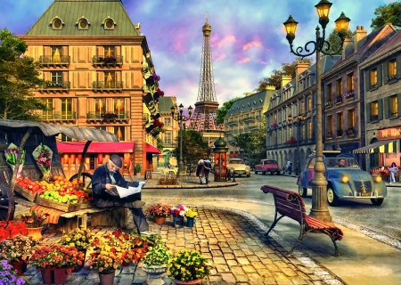 Paris Street Life F Other Architecture Background