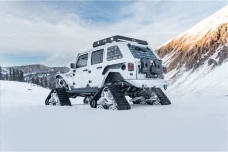 Arctic Frog Jeep - windows, desktop, wallpaper, Arctic Frog Jeep
