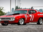 1971 Plymouth Satellite Nascar Race Car