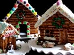Gingerbread House And Dog
