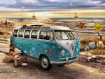 Love and Hope - VW Bus F
