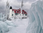 Lighthouse in the Ice Breakers