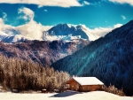 Mountain Chalet-Winter