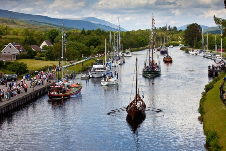 The Caledonian Canal - Scotland - Scotland, Scottish Highlands, Canals, The Caledonian Canal