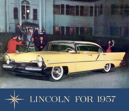 LINCOLN 57 - cars, retro, lincoln, ford