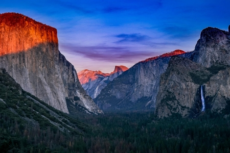 Yosemite Valley - mountain, Yosemite, cool, nature, fun, Valley