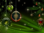 Green Holiday Jewels