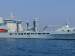 WORLD OF WARSHIPS RFA TIDESPRING ROYAL FLEET AUXILIARY