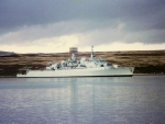 WORLD OF WARSHIPS HMS FIFE COUNTY CLASS DESTROYER (Port Stanley,Falklands)