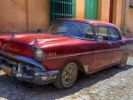 old chevy in havana