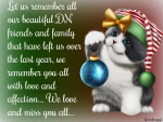 REMEMBERING DN FRIENDS AND FAMILY