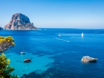 Mystical Island of Es Vedra,Spain
