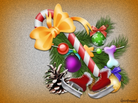 CHRISTMAS DECORATIONS - DECORATIONS, ART, IMAGE, CHRISTMAS