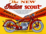 1920 Indian motorcycle Ad