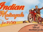 1930 Indian Motorcycle ad
