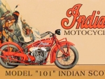 Indian Model 101 scout ad