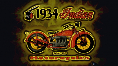 1934 Indian 4 cylinder ad paint - 1934 Vintage Indian Motorcycle advertising, Indian Motorcycle logo, 1934 Indian advertising, Indian Motorcycle Wallpaper, Indian Motorcycles, Indian Motorcycle Background, Indian Motorcycle Desktop Background