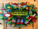 Wizard Of Oz Christmas Wreath