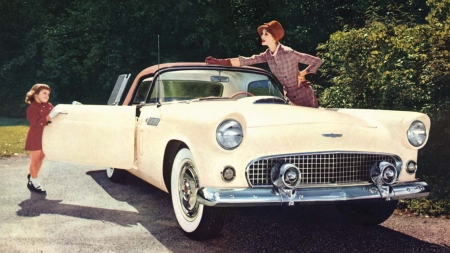 1956 Ford Thunderbird 3