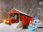 Red Truck of Christmas