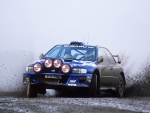 subaru wrx sti rally car