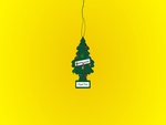 Christmas tree air freshener