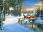 Holiday Sleigh Ride